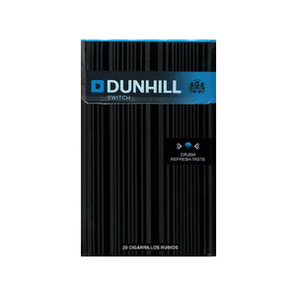 Dunhill switch cigarettes